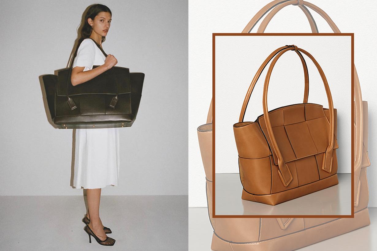 Bottega Veneta's Arco Bag Is The Anti-Mini Purse — But It's Just As Chic