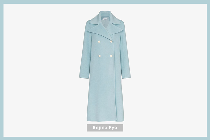 Rejina Pyo Double-Breasted Long Coat
