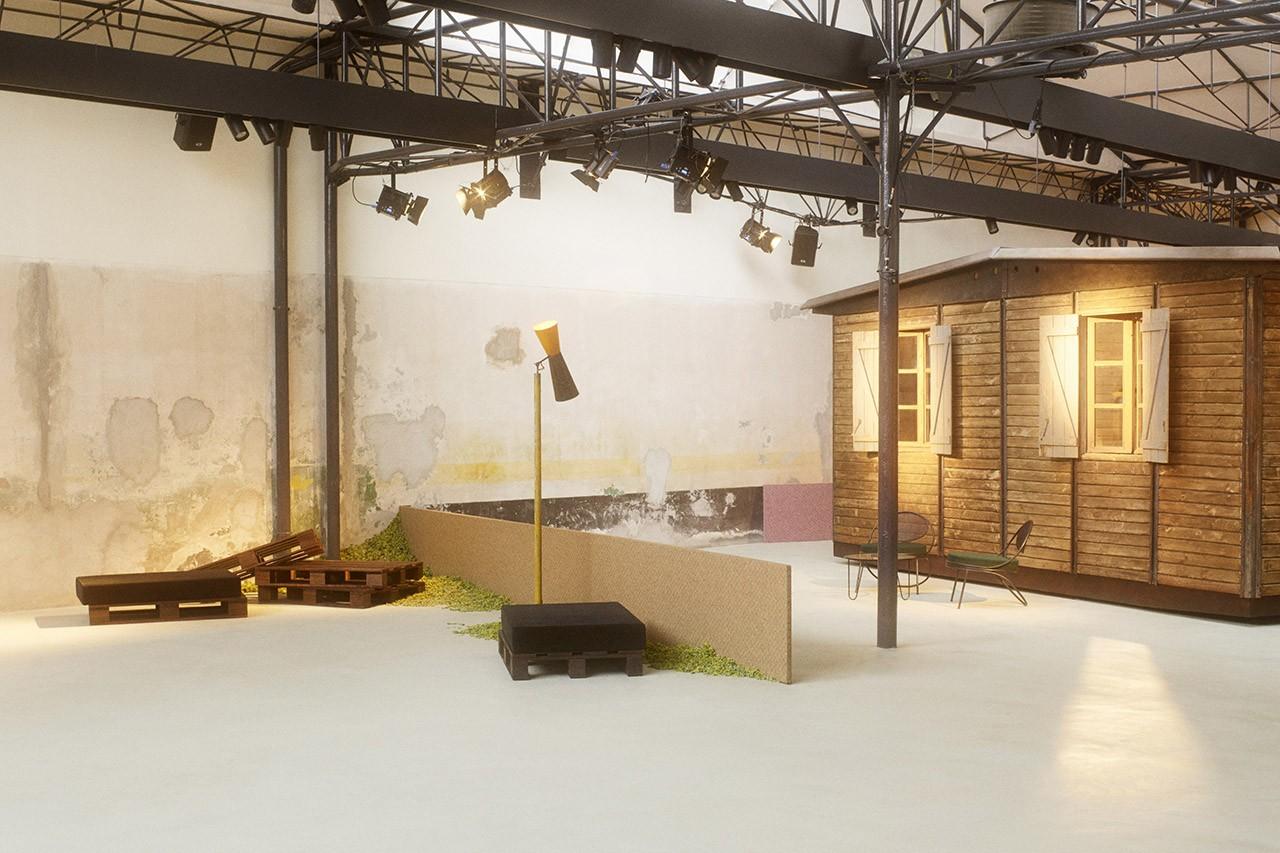 raf simons cafe milan Salone del design
