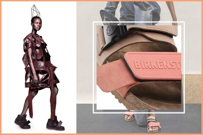 Ugly Fashion 繼續發揚光大!Rick Owens X Birkenstock 聯乘鞋款盡顯醜時尚的另類美感