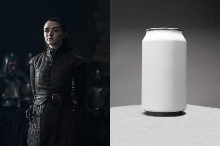 冷藏後就會出現 Arya 的刺殺名單,這瓶汽水讓《Game of Thrones》影迷瘋狂了!