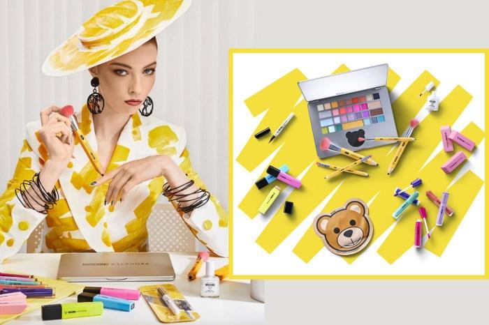 Sephora 跟 Moschino 再度推出聯乘系列,誓要讓你重拾學生時期的回憶!