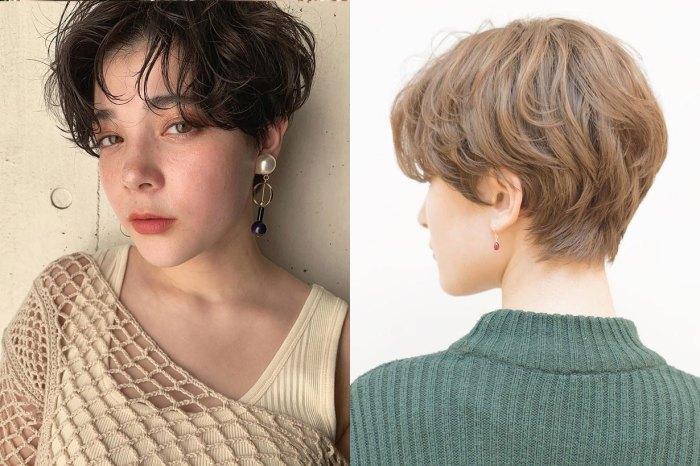 看過日系女生的「海感短髮」,會讓你摒棄又悶又焗的長髮造型