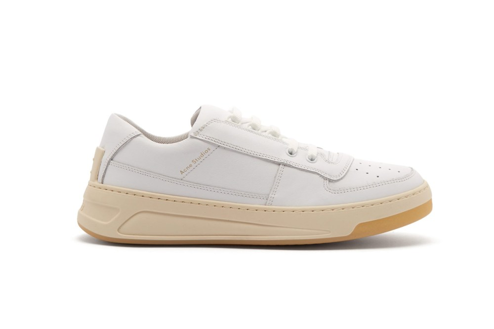 Acne Studios Steffey Low-Top Leather Trainers