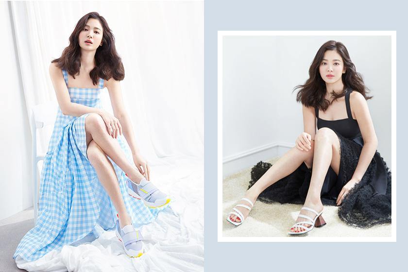 Song Hye Kyo Suecomma Bonnie legs