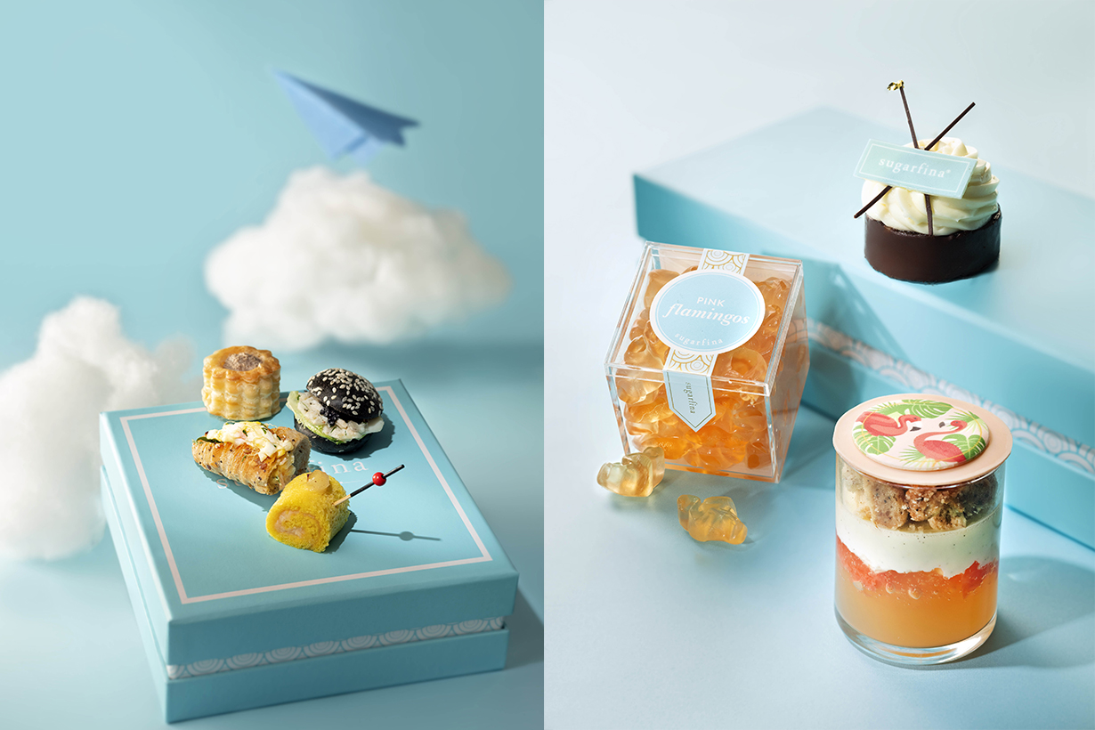 Sugarfina Cafe 103 afternoon tea