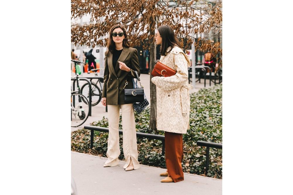 Blazer Outfits Chloe C Bag Street Style