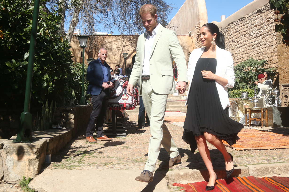 Prince Harry and Meghan Markle are allegedly planning to move to Africa