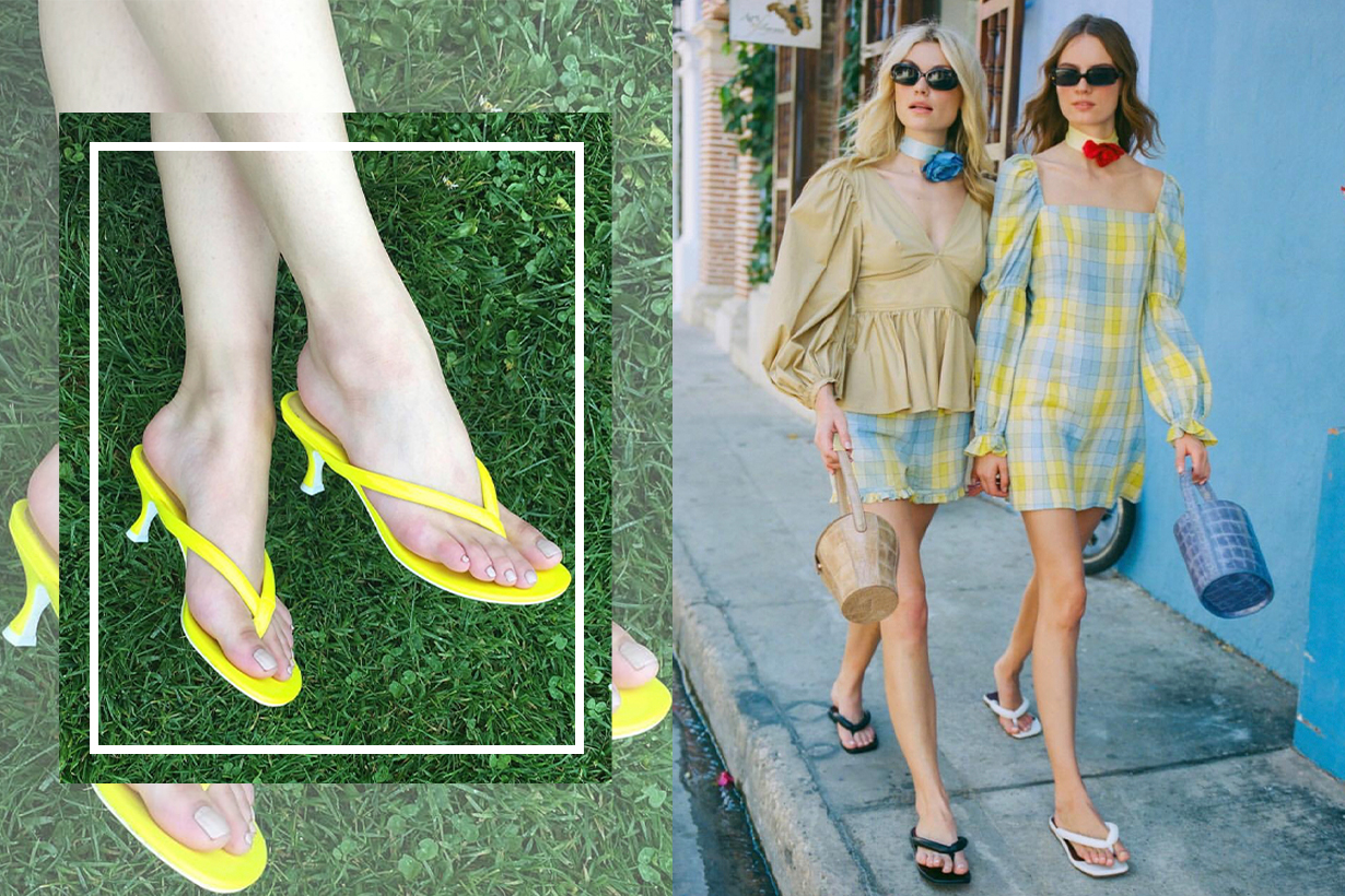 Thongs Are Officially Spring's Most Controversial Shoe Trend