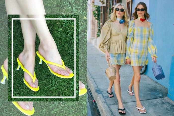 今季最具爭議性的鞋款趨勢!人字拖鞋加入這設計後竟成為了時尚潮流之一?