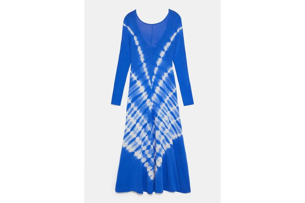 Zara Tie-Dye Knit Dress