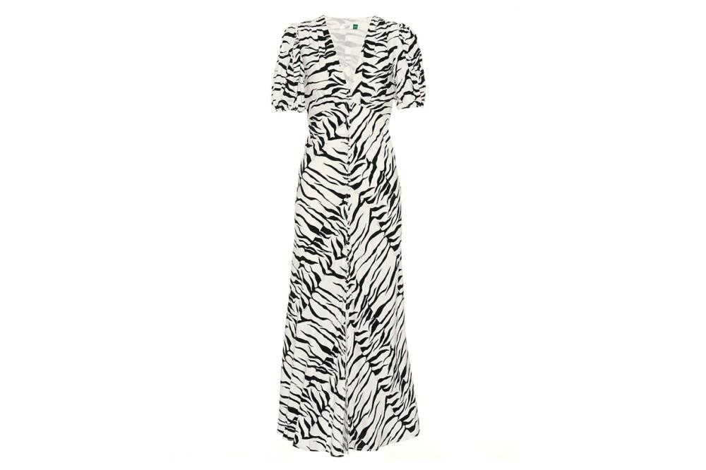 Tonya button-down midi dress