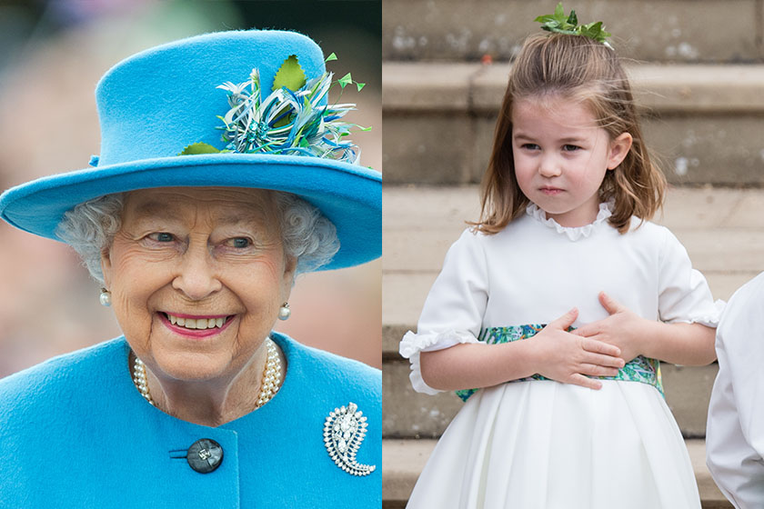 Queen Elizabeth Princess Charlotte Prince Louis and Baby Sussex they all share the same zodiac sign Taurus