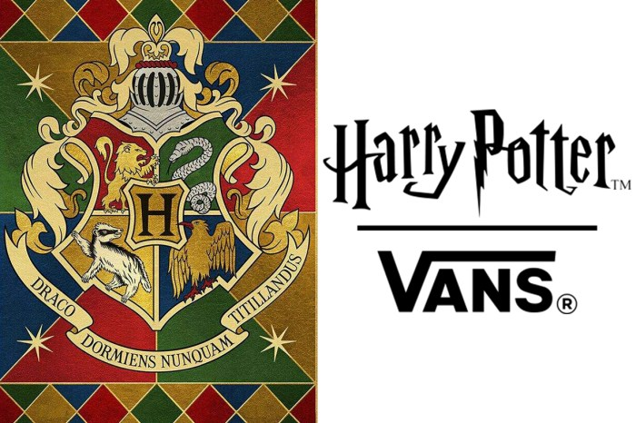隨時開搶!Vans 竟要聯乘《哈利波特》,粉絲表示絕不止買一雙!
