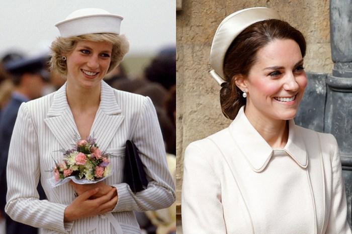 又將再次被熱搜,原來 Kate Middleton 和黛安娜王妃的品味共同點就是它……