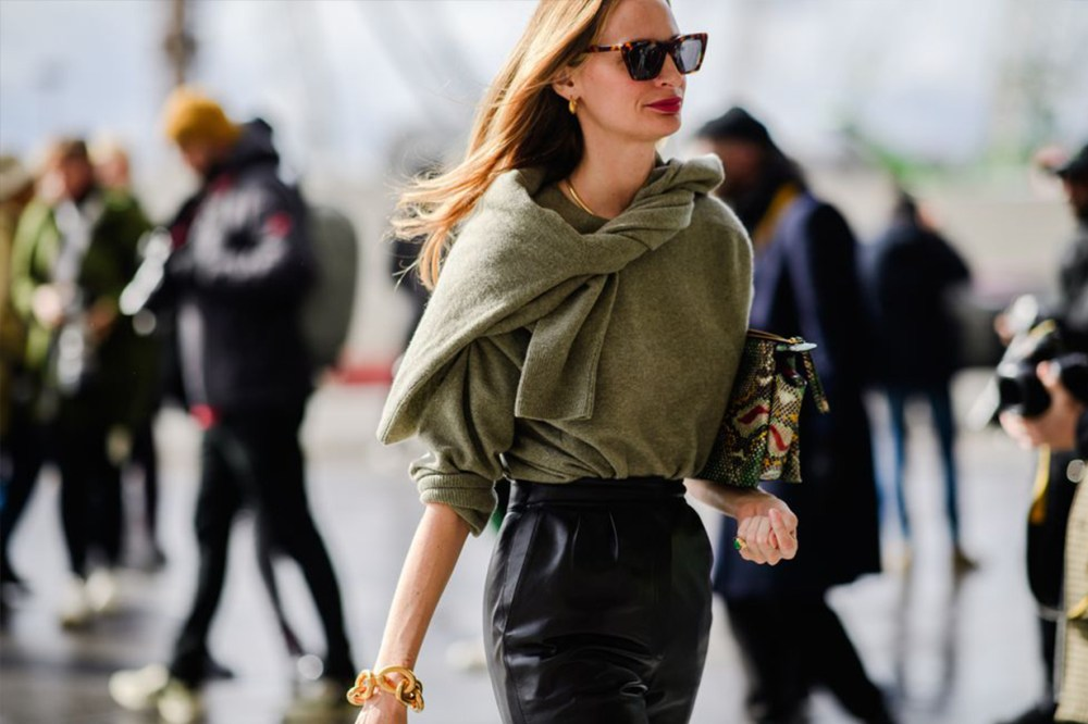 Knitwear Street Style