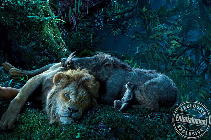 disney the lion king live action first look photos