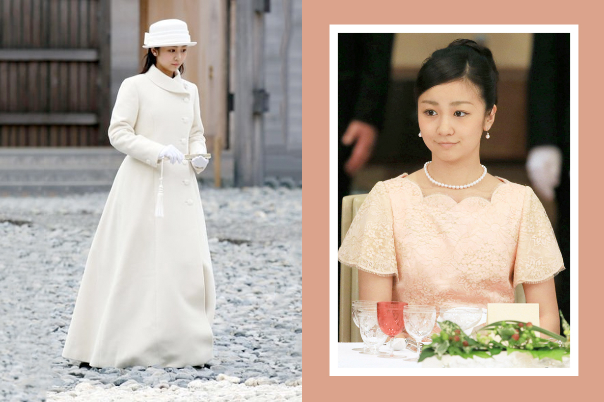 Kako japan royal family princess beautiful Naishinnō meet