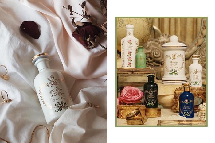 已經在 IG 討論度爆燈:Gucci 推出全新香氛,復古而奢華的瓶身實在太美!