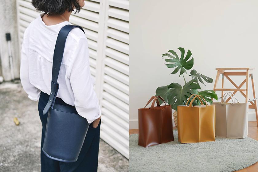 minimal Handbag Brand White Oak Factory Thailand