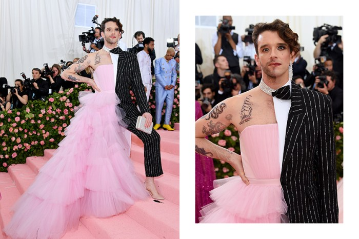 完美詮釋 Met Gala 時尚:Michael Urie 雙面跨性別造型令網民大讚!