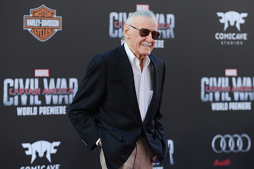 Stan Lee Avengers:EndGame Russo Brothers  Behind the Scenes
