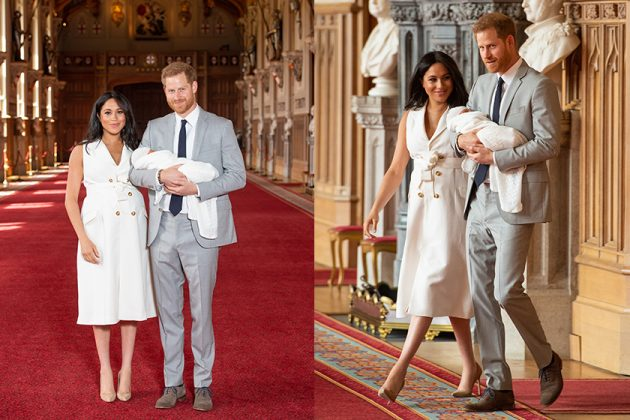 Prince Harry Meghan Markle The Royal Baby first Look
