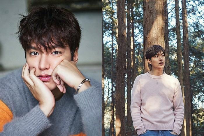 退伍後首部韓劇確定!李敏鎬將與《繼承者們》《太陽的後裔》的她合作拍攝!