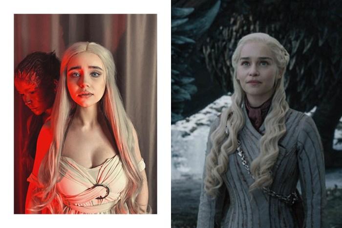美妝博主仿妝《權力遊戲》人氣角色龍母,乍看還以為是 Emilia Clarke 來了!