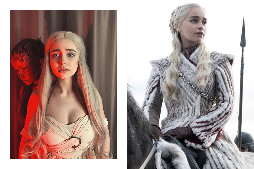 Game of Thrones Daenerys Targaryen Emilia Clarke Makeup Tutorial