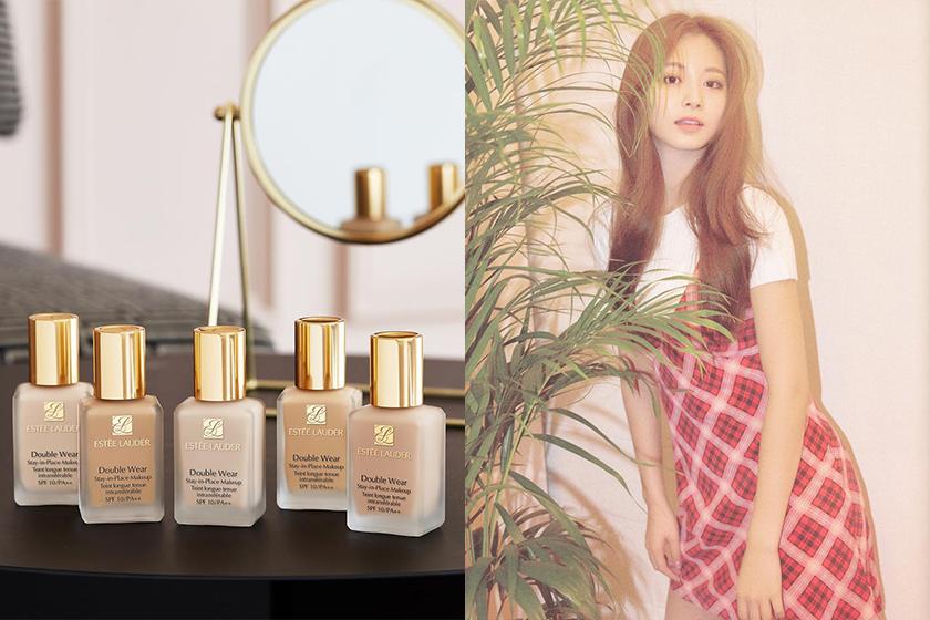 TWICE Base Makeup Beauty Secret Estee Lauder Foundation