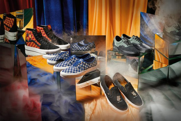 VANs x Harry Potter Collaboration Shoes Hogwarts