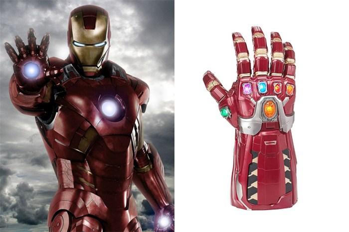 如果你也是《Avengers》終極粉絲,絕對要購入 Iron Man 版本無限手套吧?