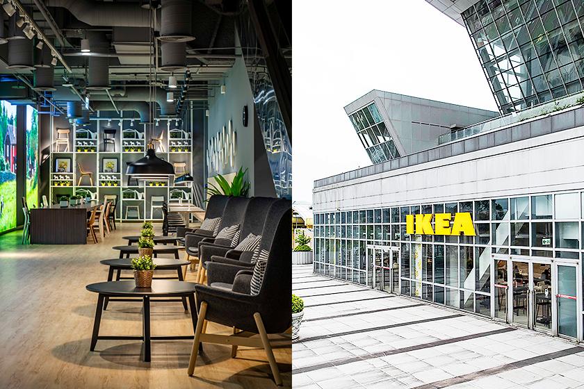 ikea new store open Xindian IKEA cafe