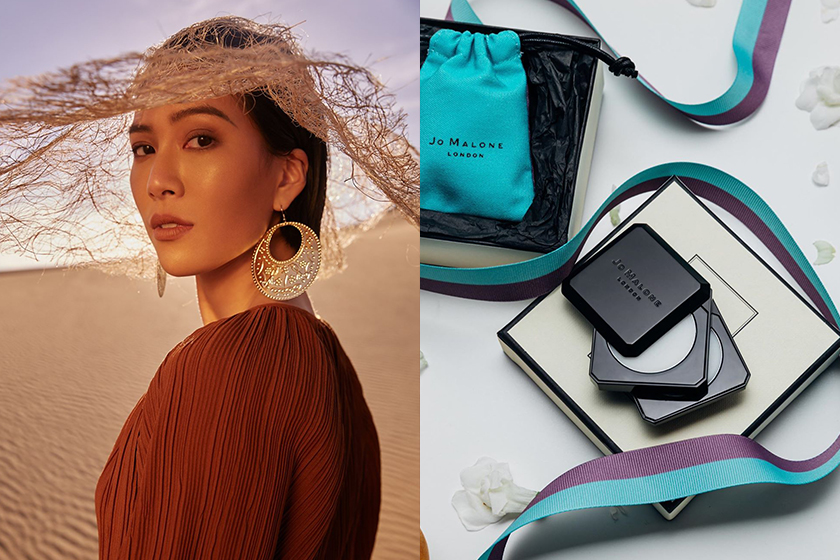 molly x Jo Malone London Perfume balm Taiwan limited