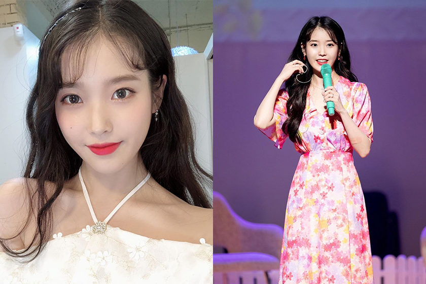 IU Lee Ji Eun performance accident