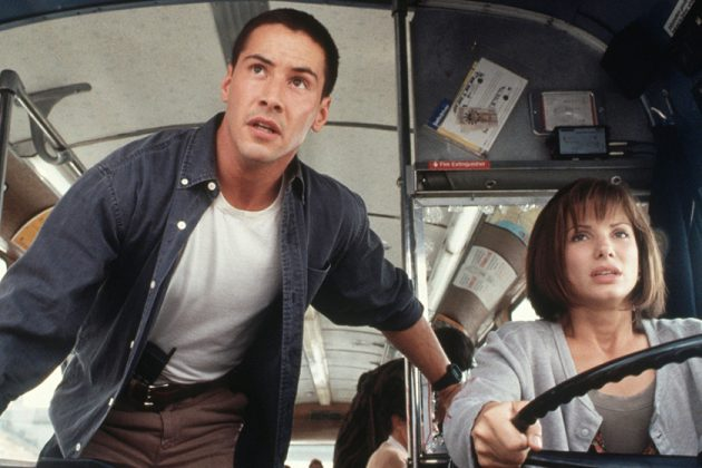 Sandra Bullock Crush on Keanu Reeves Movie Speed