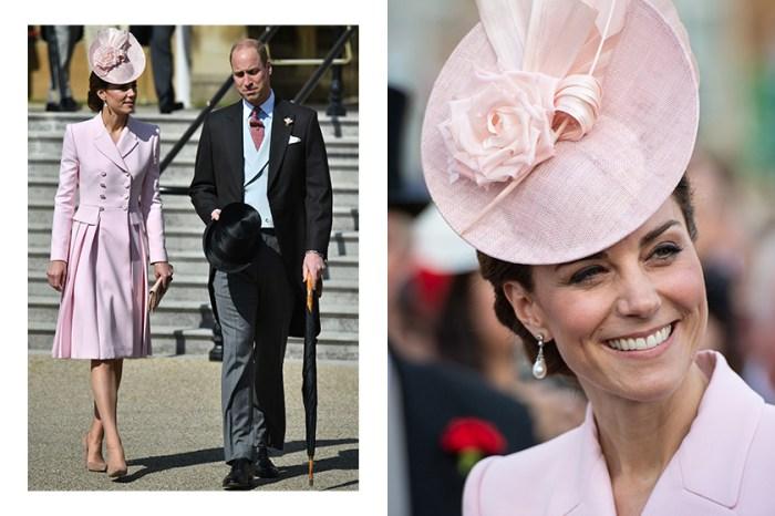 Kate Middleton 出席皇室派對造型再次致敬黛安娜王妃,引起網民讚賞!