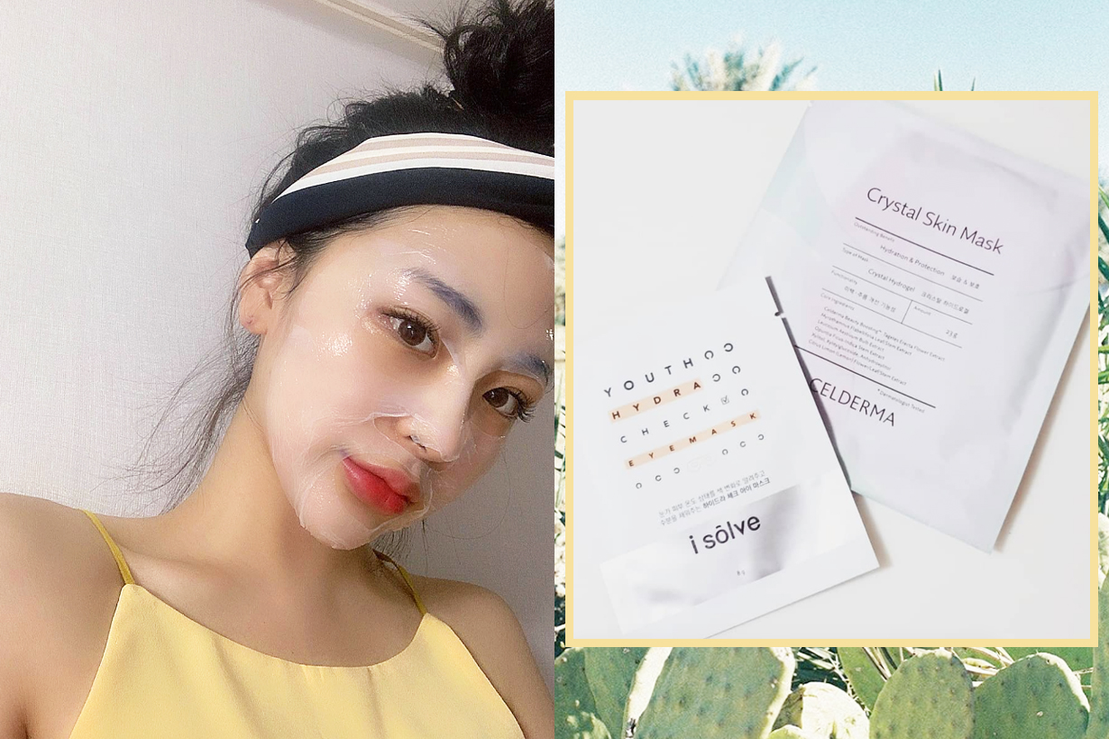 Paper Mask hacks skincare tips moisturising brightening skin tone innisfree korean skincare brand jade roller Exfoliating