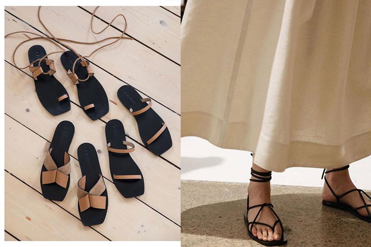 A.Emery australia sandals brand
