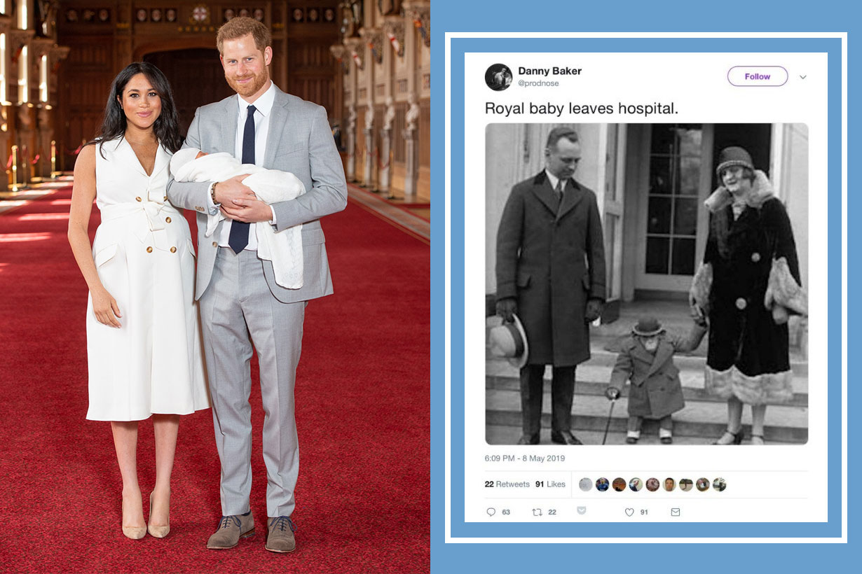 BBC radio host fired over racist royal baby tweet