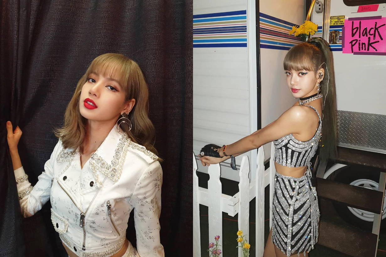BLACKPINK Lisa Harper's BAZAAR Thailand Fashion Magazine May Cover Shoot Editorial Shoot K Pop Korean idols celebrities singers girl bands