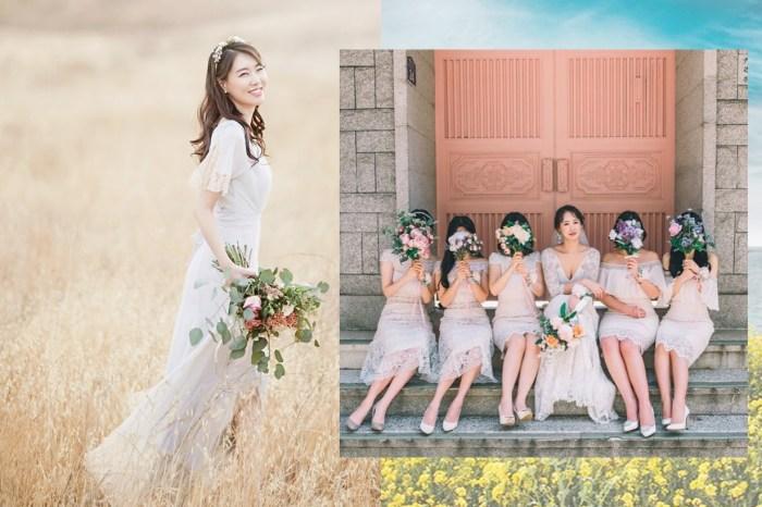 伴娘髮型也可以 DIY!3 個簡約又時尚的款式,學會了真的讓新娘省一筆!