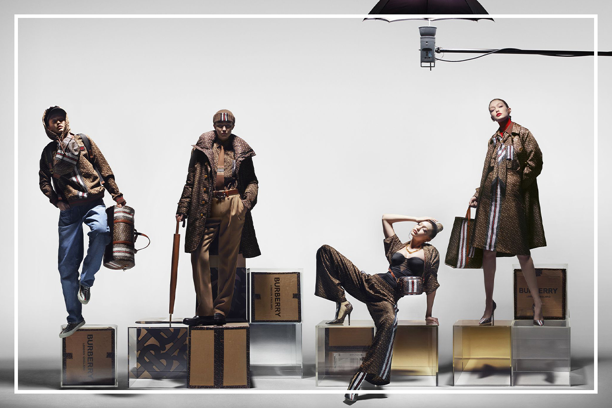 Gigi Hadid Stars As Four Different Characters In Her Very First Burberry Campaign