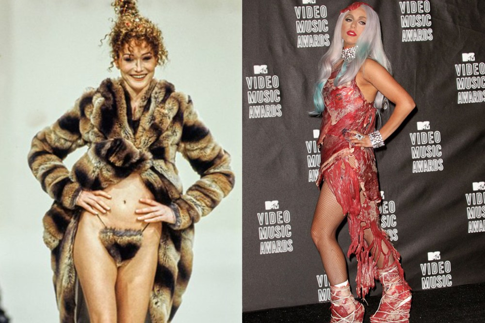 Lady Gaga MTV Video Music Awards in Los Angeles, Vivienne Westwood fall/winter 1994