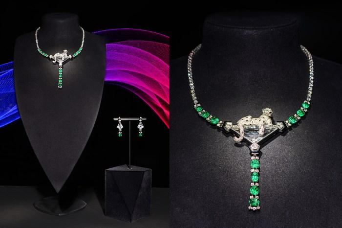 Cartier 舉行高級珠寶展,帶來了 16 億港元的寶石!
