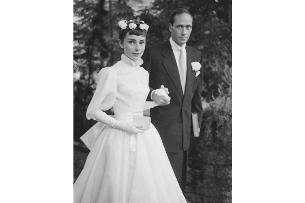 Audrey Hepburn Mel Ferrer Wedding