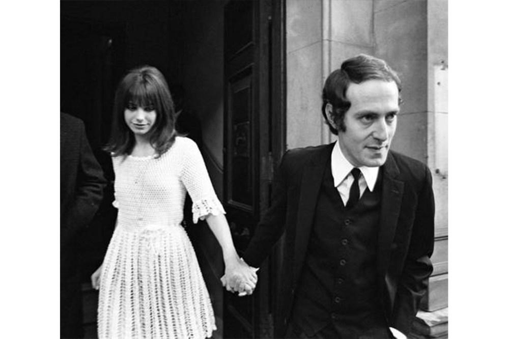 Jane Birkin Chelsea Registry Office London Wedding