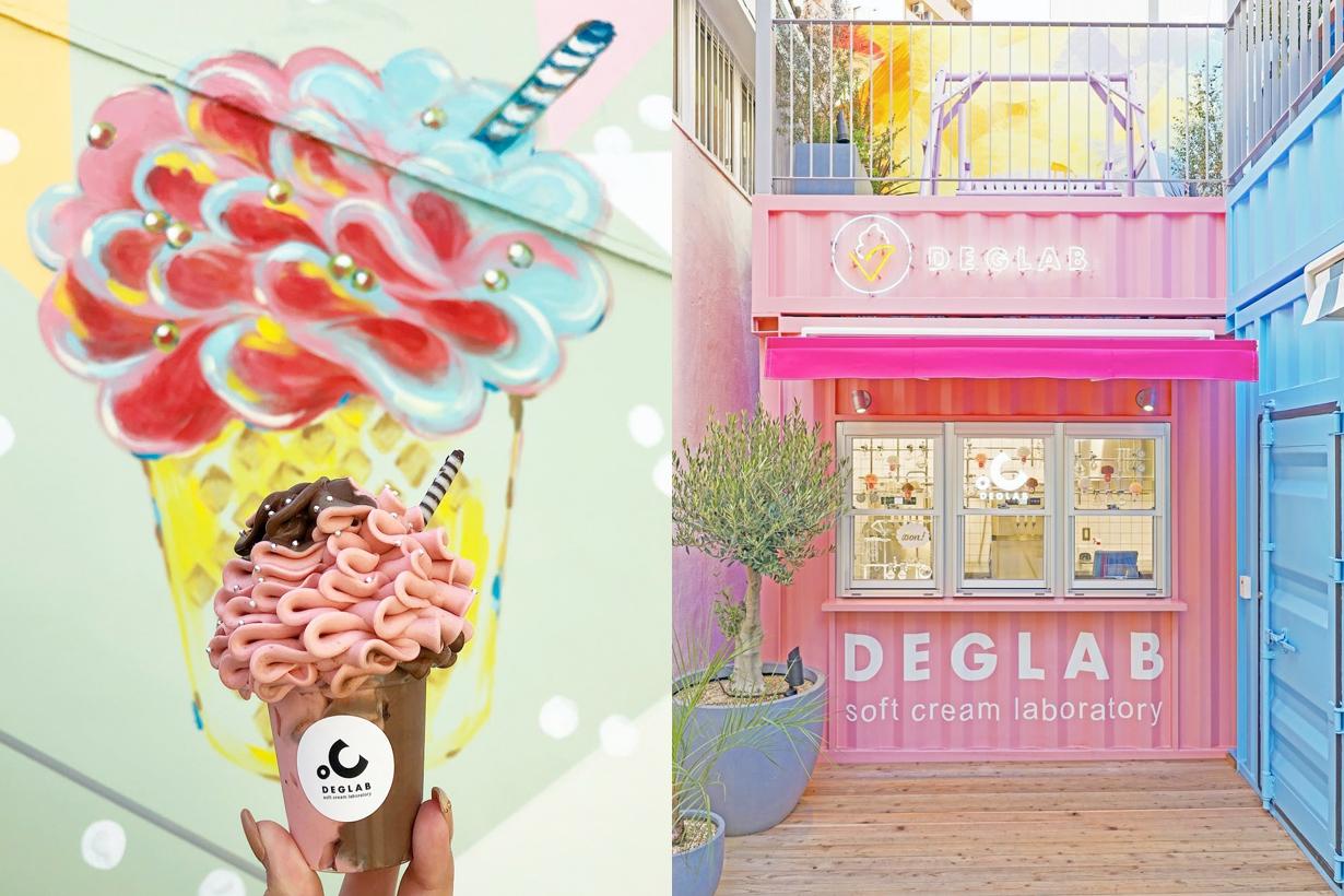akichi deglab osaka namba soft ice cream instagram hot spot