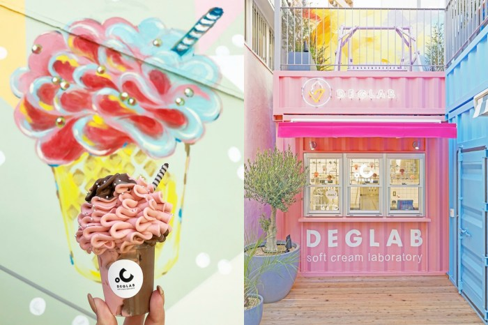 #POPSPOTS in Osaka:強調究極の蓬鬆口感,開幕一個月就大排長龍「花束冰淇淋」